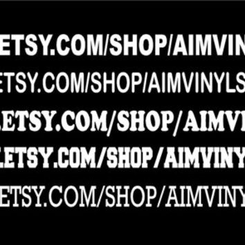 Etsy shop web page custom vinyl decal for your car or home promote your site while driving to craft shows 25 cent shipping on 2 or more