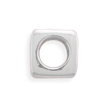 Polished Square Bead