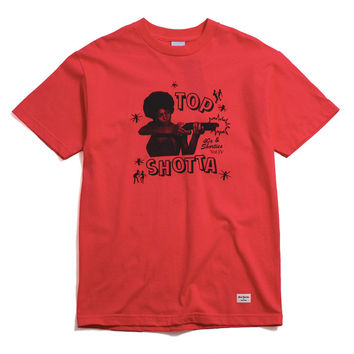 Top Shotta T-Shirt Coral