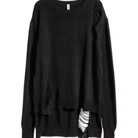 Trashed Sweater - from H&M