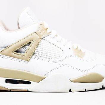 KUYOU WMNS Air Jordan 4 Retro Light Sand