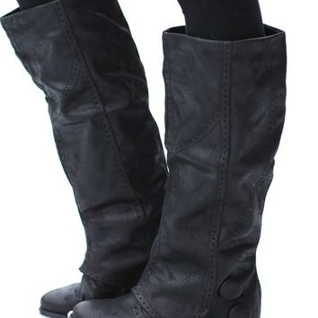 Bailey's Favorite Button Boots (Black)