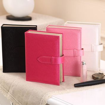 Newest Arrival Portable Book Typed Leather Jewelry Organizer Earrings Ear Studs Hooks Holder For Jewelry Store