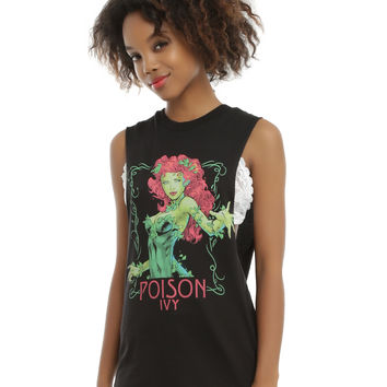 DC Comics Poison Ivy Girls Muscle Top