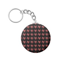 Indian Tribal Mask Pattern Keychain