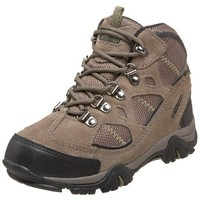 Hi-Tec Renegade Trail Hiking Boot (Toddler/Little Kid/Big Kid),Smokey Brown/Dark Taupe/Mushy Pea,12 M US Little Kid