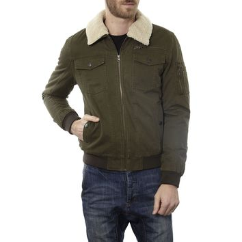 Maverick Aviator Jacket with Removable Collar