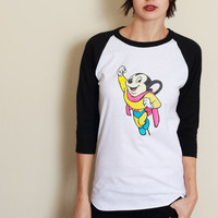 Vintage Mighty Mouse Raglan Tee