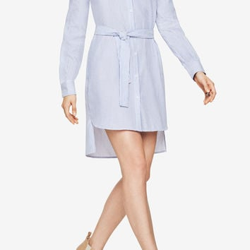 Ani Cold-Shoulder Shirt Dress