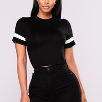 Just Right Tee - Black