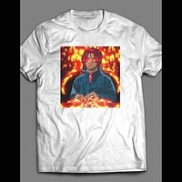 "RAPPER TRIPPY REDD ""FIRE TRIP OUT ART"" SHIRT"