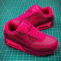 Nike Air Max 90 Pink Sport Running Shoes - Best Online Sale
