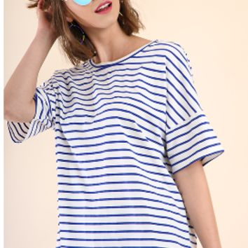 All About The Stripes Top
