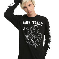Naruto Shippuden Nine Tails Long-Sleeve T-Shirt