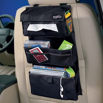 Back Seat Entertainment Organizer Black