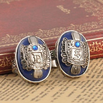 The Vampire Diaries Vintage Damon/Stefan Salvatore Sun Family Crest Ring