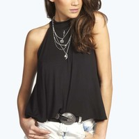 Helena High Neck Swing Top