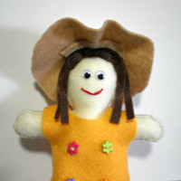 Plushie Felt Doll - Virginia