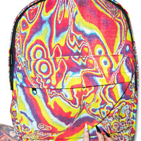 Hollywood Mirror Trippin' Out Backpack Tie Dye One
