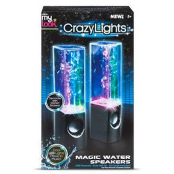 My Look Crazy Lights Magic Water Speakers by Cra-Z-Art