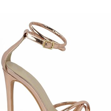 Light You Up Heels - Rose Gold