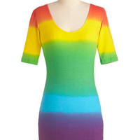 Singing in the Rainbow Dress | Mod Retro Vintage Dresses | ModCloth.com
