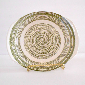 El Verde Serving Platter Max Schonfeld Made in USA 1960s