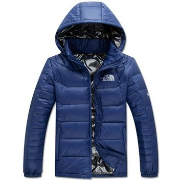 The North Face Mens Down Hoodie Jackets-1