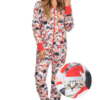 Women's Meowy Catmus Jumpsuit