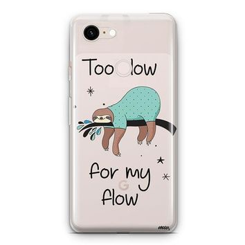 Too Slow Google Pixel 3 Clear Case