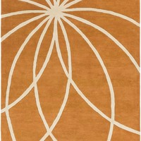 Forum Area Rug Orange