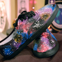 CHRISTMAS SHIPPING -Rainbow Galaxy Shoes Sneakers