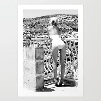 April in Gozo Art Print by OCcreates