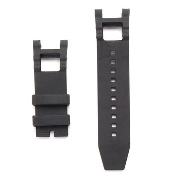 28mm Rubber Black Watch Band For Invicta Subaqua Noma With Repair Tool