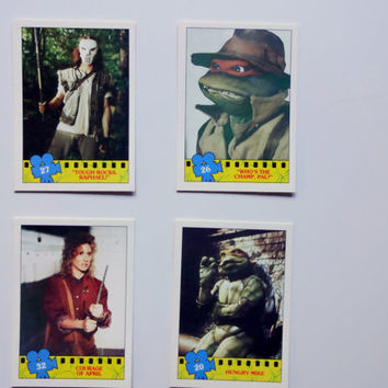 Vintage Topps Teenage Mutant Ninja Turtles Trading Cards 1990