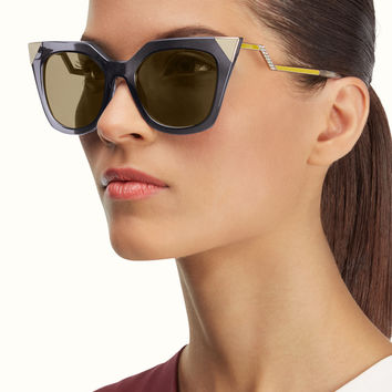 FENDI | IRIDIA Square-shaped sunglasses