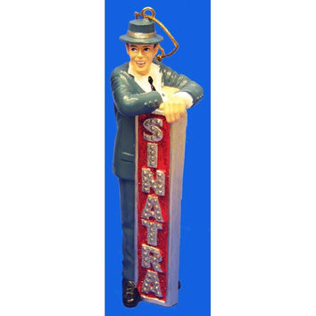 Christmas Ornament - Frank Sinatra And Marquee