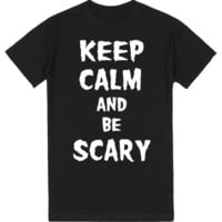 Keep Calm and Be Scary Halloween Shirt