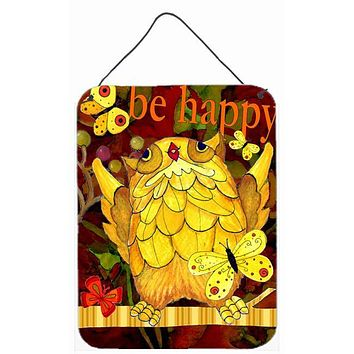 Happy Happy Day Owl Wall or Door Hanging Prints PJC1034DS1216