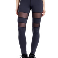 Michi Activewear Psyloque | Designer Mesh Leggings