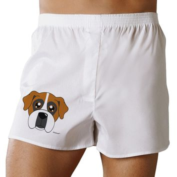 Cute Boxer Dog Boxer Shorts