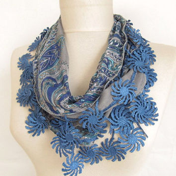 Scarf - chunky scarf birthday gifts women's accessory fashion scarf boho scarfs - Long Scarf - cotton scarf