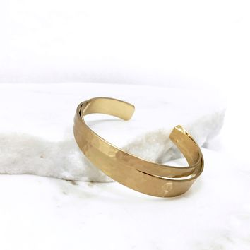 Take It All Gold Bangle Bracelet