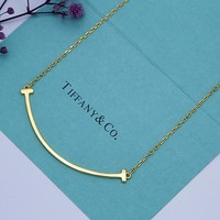 Tiffany & Co. Large smiley necklace