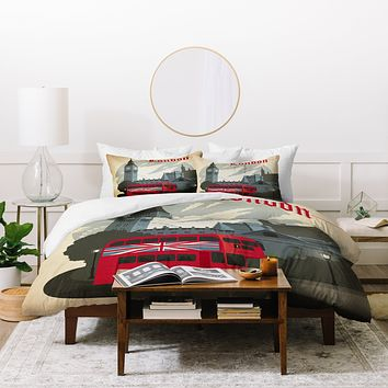 Anderson Design Group London Duvet Cover