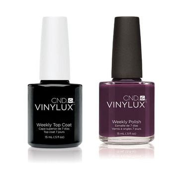 CND - Vinylux Topcoat & Rock Royalty 0.5 oz - #141