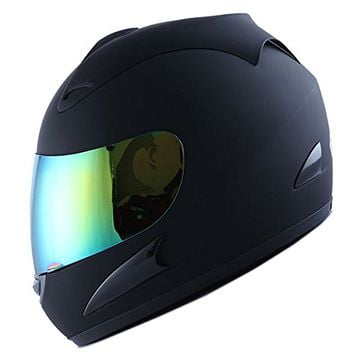 WOW Motorcycle Street Bike Full Face Helmet Racing Star