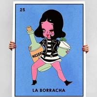 La Borracha Canvas Print