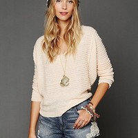 Free People Hourglass Seam Pullover