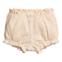 Double-weave Puff Pants - from H&M